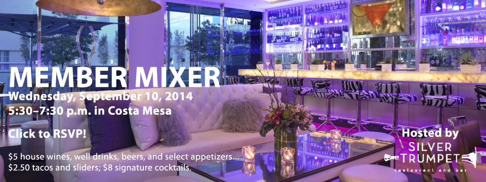 Sept 2014 Mixer