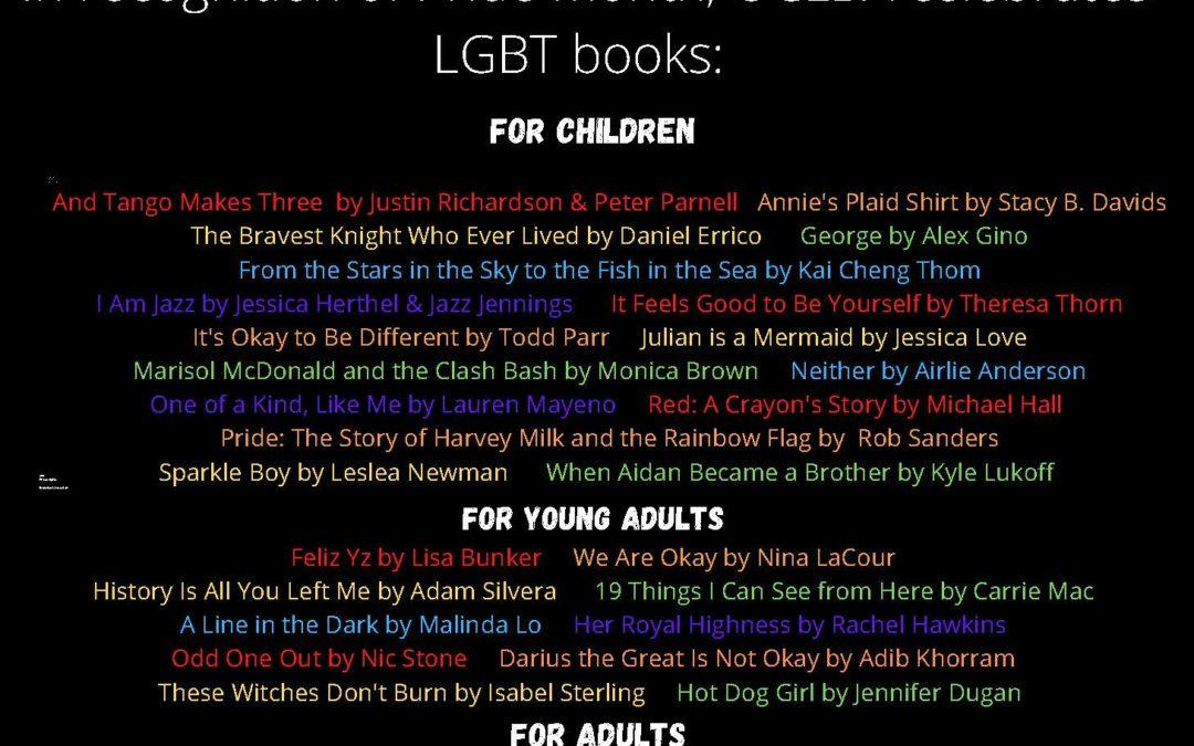 Pride 2021: LGBTQ Books